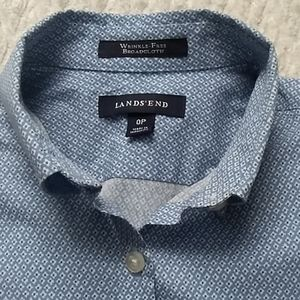 Lands End Button Down